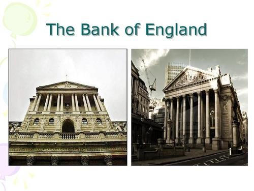 Bank of England代写