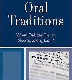 Oral Traditions代写